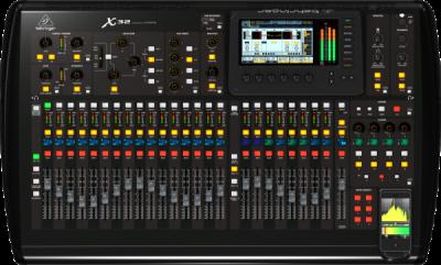 Behringer X32 es una mesa de mezclas digital de 32 canales