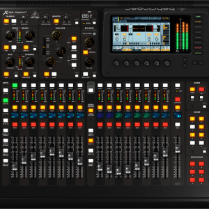 Behringer X32 COMPACT es una mesa de mezclas digital compacta