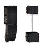 L Acoustics KIVA SB15m es una caja acústica pasiva, ultra compacta, WST, de dos vías, Line Array.