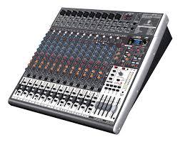 Behringer XENYX X2442USB es una mesa mezclas analógica de 24 canales