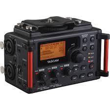 TASCAM DR 60DMKII es un grabador digital para DSLR