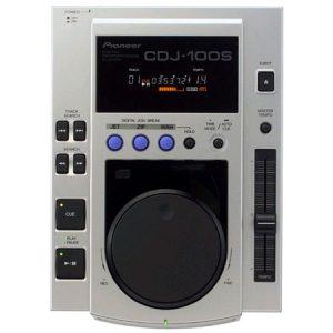 Pioneer CDJ 100S es un reproductor portátil para sesiones de mezcla