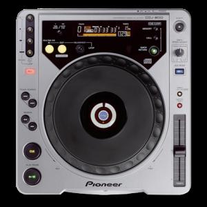 PIONEER CDJ 800 es un reproductor de CD para DJ